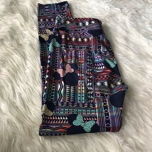 LuLaRoe Disney leggings one size